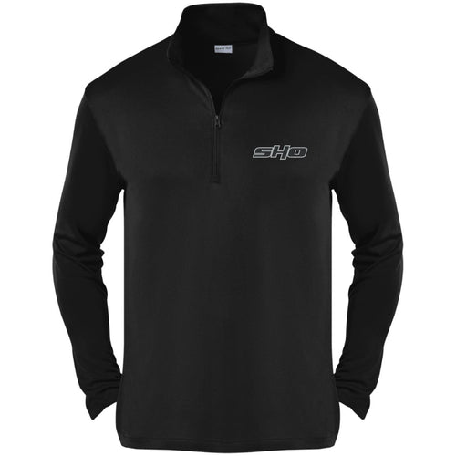 SHO embroidered ST357 Sport-Tek Competitor 1/4-Zip Pullover