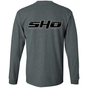 SHO 2-sided print G240 Gildan LS Ultra Cotton T-Shirt