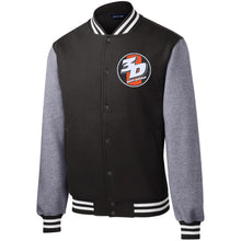 Load image into Gallery viewer, 3D Offroad embroidered ST270 Sport-Tek Fleece Letterman Jacket