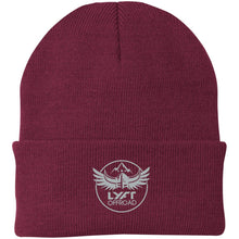 Load image into Gallery viewer, Lyft Off Road silver embroidered CP90 Port Authority Knit Cap