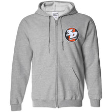 Load image into Gallery viewer, 3D Offroad embroidered G186 Gildan Zip Up Hooded Sweatshirt