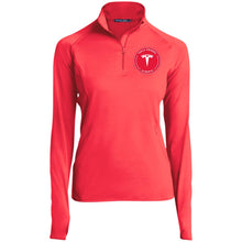 Load image into Gallery viewer, Tesla Owners Club of Alberta LST850 Sport-Tek Women's 1/2 Zip Performance Pullover