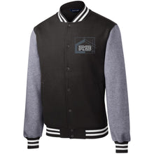 Load image into Gallery viewer, Rullo embroidered logo ST270 Sport-Tek Fleece Letterman Jacket