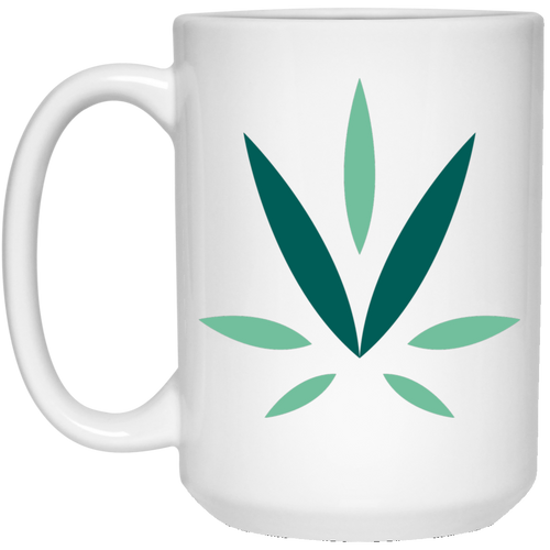 Village Vine 21504 15 oz. White Mug