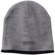 Load image into Gallery viewer, Enhanced Installs black embroidered CP91 100% Acrylic Beanie