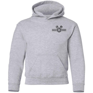 WRECKDIT Garage G185B Gildan Youth Pullover Hoodie