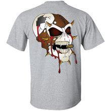 Load image into Gallery viewer, Dark Side Racing 2-sided print w/ skull on back G200 Gildan Ultra Cotton T-Shirt