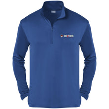Load image into Gallery viewer, Drives at Mile High embroidered logo ST357 Sport-Tek Competitor 1/4-Zip Pullover