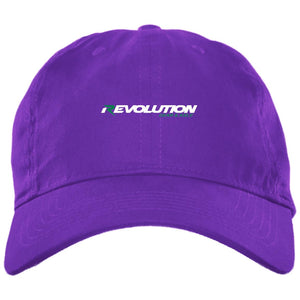 Revolution embroidered BX001 Brushed Twill Unstructured Dad Cap