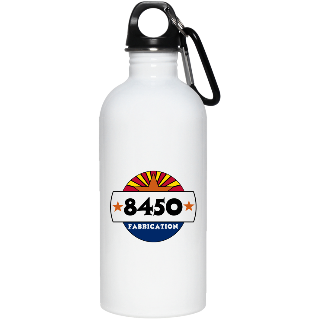 8450 Fab dye sub logo 23663 20 oz. Stainless Steel Water Bottle