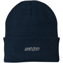Load image into Gallery viewer, SHO embroidered CP90 Port Authority Knit Cap
