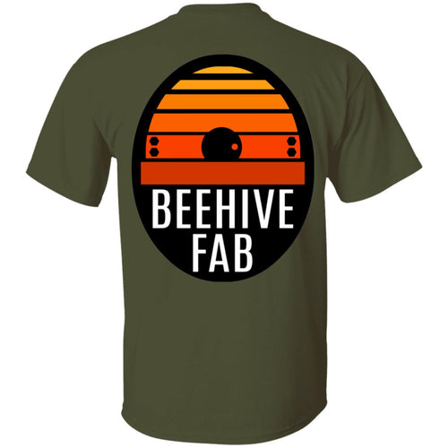 BeehiveFAB 2-sided print G500 Gildan 5.3 oz. T-Shirt
