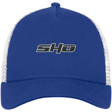 Load image into Gallery viewer, SHO embroidered NE205 New Era® Snapback Trucker Cap