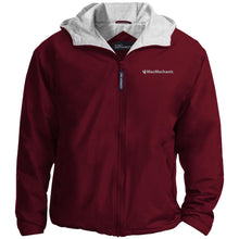 Load image into Gallery viewer, MacMechanic silver embroidered logo JP56 Port Authority Team Jacket