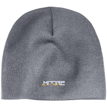 Load image into Gallery viewer, MOORE embroidered logo CP91 100% Acrylic Beanie
