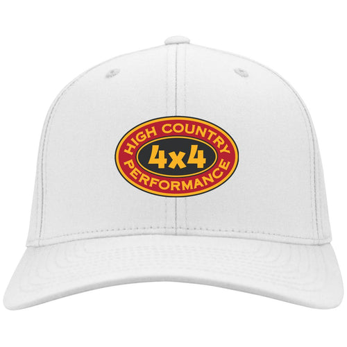 High Country original embroidered logo C813 Port Authority Flex Fit Twill Baseball Cap