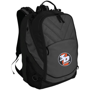 3D Offroad embroidered BG100 Port Authority Laptop Computer Backpack