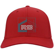 Load image into Gallery viewer, Rullo embroidered logo C813 Port Authority Flex Fit Twill Baseball Cap