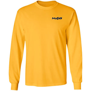 M4O 2-sided print G240 Gildan LS Ultra Cotton T-Shirt