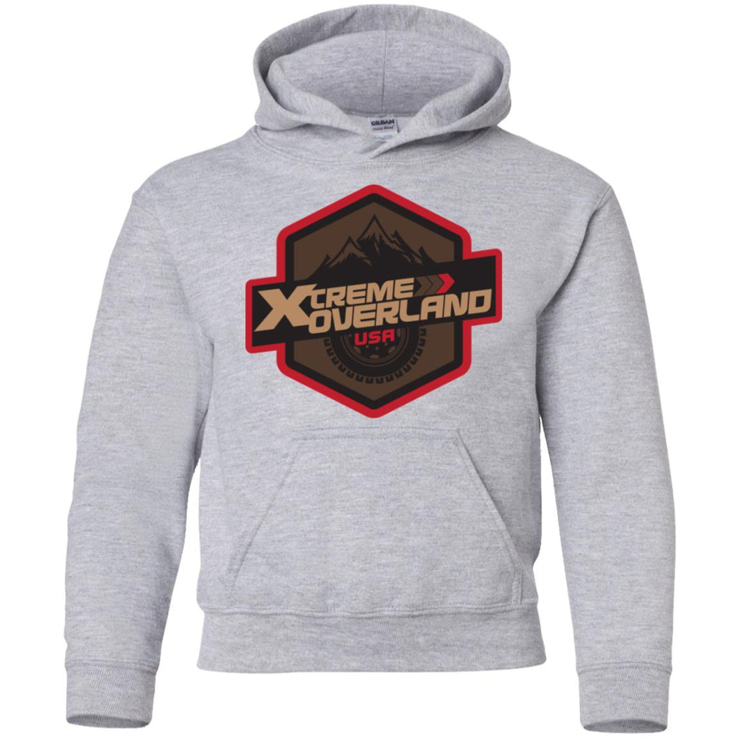 Xtreme Overland G185B Gildan Youth Pullover Hoodie