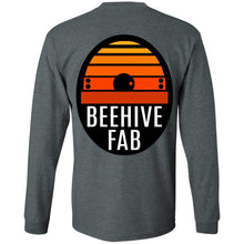 Load image into Gallery viewer, BeehiveFAB 2-sided print G240 Gildan LS Ultra Cotton T-Shirt