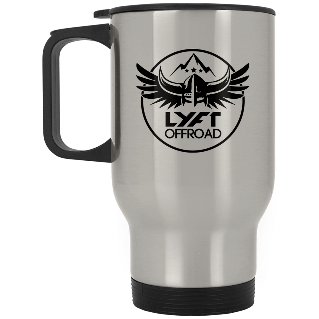 Lyft Off Road XP8400S Silver Stainless Travel Mug