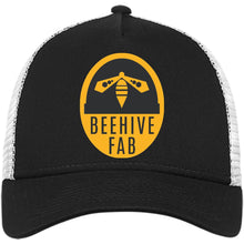 Load image into Gallery viewer, Beehive FAB embroidered logo NE205 New Era® Snapback Trucker Cap