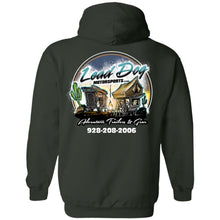 Load image into Gallery viewer, LEAD DOG 2-sided print G185 Gildan Pullover Hoodie 8 oz.