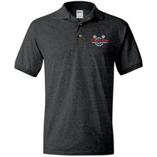 Load image into Gallery viewer, Sin City embroidered G880 Gildan Jersey Polo Shirt