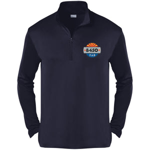 8450 embroidered logo ST357 Sport-Tek Competitor 1/4-Zip Pullover