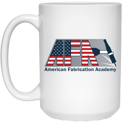 AFA 21504 15 oz. White Mug