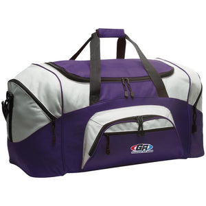 GenRight embroidered logo BG99 Colorblock Sport Duffel