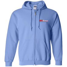 Load image into Gallery viewer, MaxTorq embroidered logo G186 Gildan Zip Up Hooded Sweatshirt