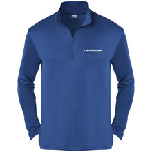 Load image into Gallery viewer, Revolution embroidered ST357 Sport-Tek Competitor 1/4-Zip Pullover