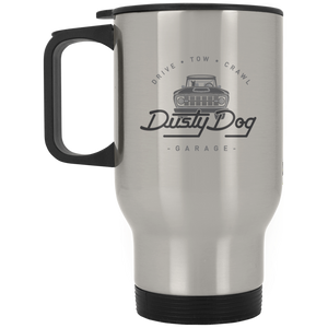 Dusty Dog XP8400S Silver Stainless Travel Mug