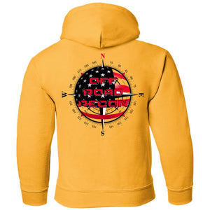 Off-Road Recon 2-sided print G185B Gildan Youth Pullover Hoodie