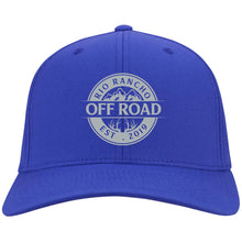 Load image into Gallery viewer, Rio Rancho Off Road embroidered logo C813 Port Authority Flex Fit Twill Baseball Cap