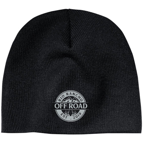 Rio Rancho Off Road embroidered logo CP91 100% Acrylic Beanie