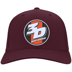 3D Offroad embroidered C813 Port Authority Fullback Flex Fit Twill Baseball Cap