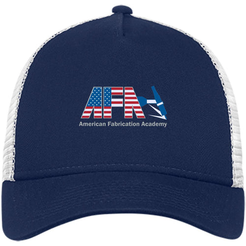 AFA embroidered logo NE205 New Era® Snapback Trucker Cap