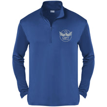 Load image into Gallery viewer, Lyft Off Road silver embroidered ST357 Sport-Tek Competitor 1/4-Zip Pullover