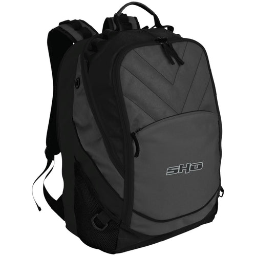 SHO embroidered BG100 Port Authority Laptop Computer Backpack