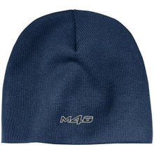 Load image into Gallery viewer, M4O embroidered logo CP91 100% Acrylic Beanie