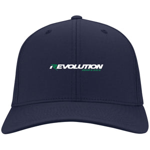 Revolution embroidered C813 Port Authority Fullback Flex Fit Twill Baseball Cap