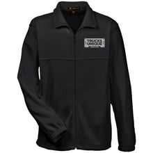 Load image into Gallery viewer, Trucks Unique black & silver embroidered logo M990 Harriton Fleece Full-Zip
