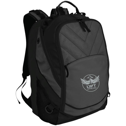 Lyft Off Road silver embroidered BG100 Port Authority Laptop Computer Backpack