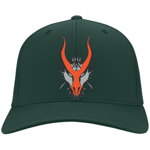 HYDRA Offroad silver embroidered logo C813 Port Authority Flex Fit Twill Baseball Cap