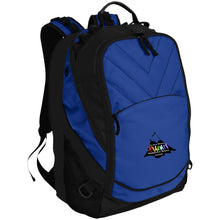Load image into Gallery viewer, CO Springs Home School Sports League embroidered logo BG100 Port Authority Laptop Computer Backpack
