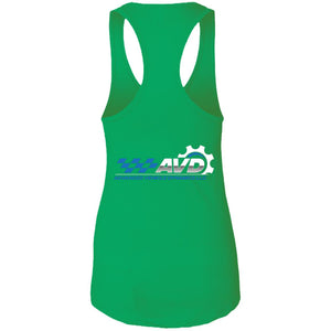 AVD 2-sided print NL1533 Next Level Ladies Ideal Racerback Tank