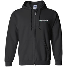Load image into Gallery viewer, Revolution embroidered G186 Gildan Zip Up Hooded Sweatshirt